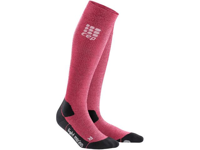cep Pro+ Outdoor Light Merino Socks Damen wild berry